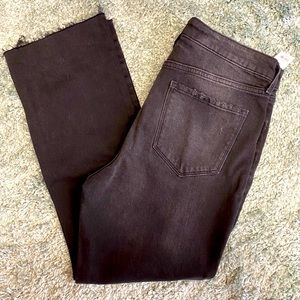 Old Navy flare ankle high rise jean NWT